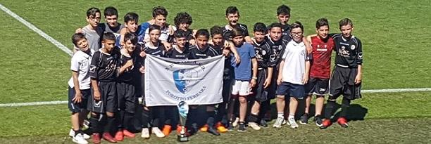Gli Esordienti 2006 della X Martiri si aggiudicano il trofeo Mazza  battendo l'Atletico Delta per 3 a 1